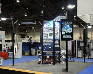 Light Fair International Trade Show Booth and Panel Design 2014 - Marie R. Stonestreet