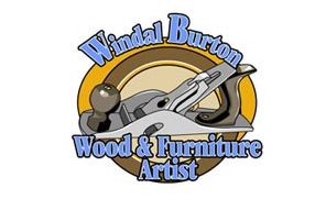 Windal Burton Wood and Furniture Artist Logo Design