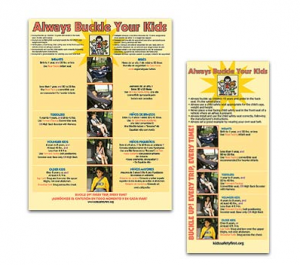 Toyota - Kids First Poster and Insert Card Program