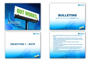 Clear Channel Outdoor Internal Product Bulletin Training