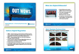 Clear Channel Outdoor Digital Bulletin Government PSA Training