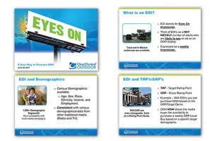Clear Channel Outdoor Eyes On Impression GRP Client/Agency Training