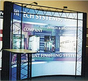 HI TECH Systems Trade Show Display Design