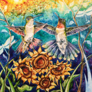 "Love in Heaven's Eternal Garden – ""WINGS OF INSPIRATION SERIES"""