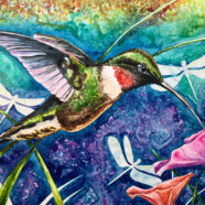 "Garden Symphony of Wings – ""WINGS OF INSPIRATION SERIES"""